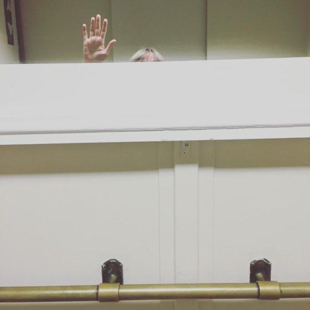 Elevator selfie after leaving bristolivys studio Im guessing she doesnthellip